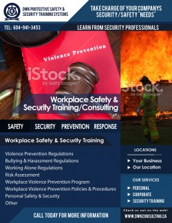 Workplace Safety And Security Consulting Training Dwk